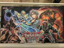 Yu-Gi-Oh! Win-A-Mat Playmat with Aster Phoenix and Destiny HERO monsters