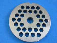"#8 x 1/4"" hole size plate disc for Porkert meat grinder mincer food chopper"