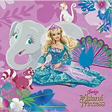 BARBIE Island Princess SMALL NAPKINS (16) ~ Birthday Party Supplies Beverage