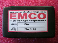 EMCO F40 High Voltage Power Supply Module 4KV 4,000 Volts Brick (International)