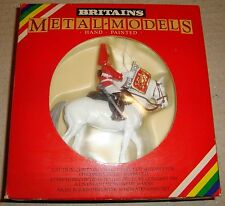 BRITAINS 7247 LIFEGUARD TRUMPETER METAL-MODELS HAND PAINTED (SOLDATINI)