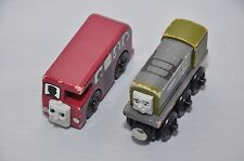 BERTIE the BUS and DODG (2000,2002) / Rare, retired vintage Thomas wooden trains