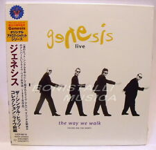 GENESIS - THE WAY WE WALK VOL.1 THE SHORTS - CD Japan w/Obi Vinyl Replica Sealed