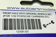 AutoArt Slotcar 13191-01 1:32 Porsche Carrera GT Front Axle With Original Wheels