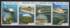 SHIP BOAT TOURISM LIGHTHOUSE SOCCER STADIUM LANTERN URUGUAY 2015 MNH STAMP