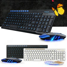 2.4G Wireless Gaming Keyboard and 1600 DPI Optical Mouse Combo Set For PC Laptop