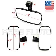 "UTV 2"" Side & Rear View Mirrors for POLARIS RZR XP 4 1000 900 Can am Maverick"