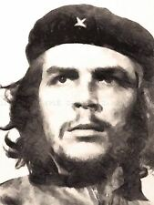 PAINTING PORTRAIT ARGENTINE REVOLUTIONARY ERNESTO CHE GUEVARA POSTER LV10581