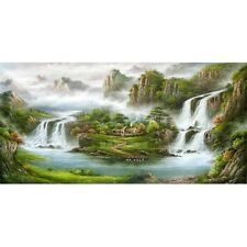 Asian style Modern Huge WALL Decor landscape Art Oil Painting canvas (no framed)