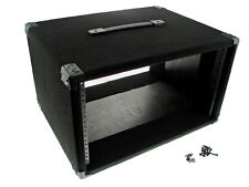 "Procraft 6U 16"" Deep Equipment Rack 6 Space - Made in the USA - With Rack Screws"