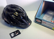 Bell Arella Women's Bike Helmet Black w/ Gold Flower LED LIGHT 50-57CM BICYCLING