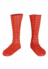 Spider-Man Adult Deluxe Boot Covers Marvel Comics - Red - 19056