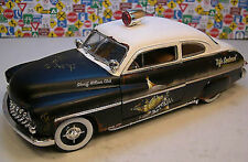 1:18 AUTOWORLD  1949 MERCURY RAT ROD Sheriff Police Patrol