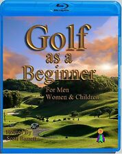 (Blu-ray) GOLF INSTRUCTION DVD BEGINNING GOLF SWING-PUTTING-CHIPPING-SAND SHOTS