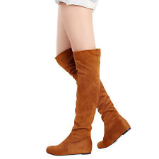 Damenschuhe Stiefel Stiefeletten Overkneestiefel Winter Boots High Heels Stiefel