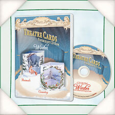 FLowersoft - Katy Sue Designs -Theatre Cards Winter CDROM