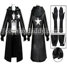 Vocaloid Black Rock Shooter cosplay costume +glove custom made Outfit