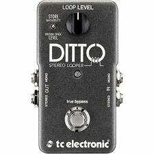 TC Electronic Ditto Stereo Looper Pedal NEW! Free 2 Day Delivery!