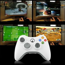 New Wireless Shock Game Controller For Microsoft xBox 360 xBox360 white HOT BH