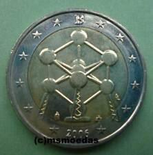 Belgien 2 Euro Gedenkmünze 2006 Atomium Euromünze commemorative coin moedas unc