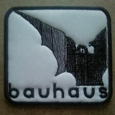 Bauhaus Embroidered patch Tones on Tail Love and Rockets