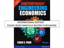 Contemporary Engineering Economics ,5e by Park