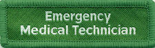 Emergency Medical Technician Badge Patch Flash 7.5cm x 2.4cm