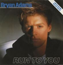 "Bryan Adams Run to You - UK 12"" Limited Fold Out Picture Sleeve!!"