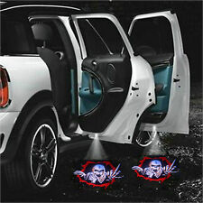 2pcs SKULL Car Door Led Welcome laser projector Ghost Shadow Light LED Bombillas