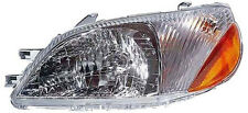 00-02 Toyota Echo Left Driver Headlight Headlamp