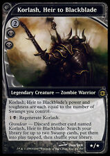 MTG KORLASH, HEIR TO BLACKBLADE EXC KORLAS, EREDE DI BLACKBLADE