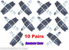 Wholesale Mountain Bike 10x Pairs V brake blocks Black MTB Bicycle Break Pads