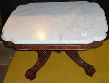 Antique Marble Top Table Lot 37