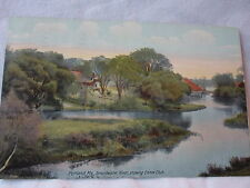 Portland  Me Maine, Stroudwater River, Canoe Club,.early postcard,   1910