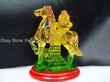 Chinese Oriental Year of the Horse Zodiac Sign Feng Shui Lucky Figurine Statue D