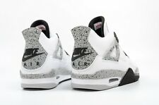"Size 7.5 Men's Air Jordan 4 Retro OG ""White Cement"" 840606 192 Basketball"