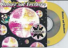 2 FABIOLA - Sisters and brothers CD SINGLE 2TR CARDSLEEVE Eurodance Trance 1998