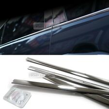 Stainless Steel Chrome Window Under Trim Molding 4P For HYUNDAI 2005-2009 Tucson
