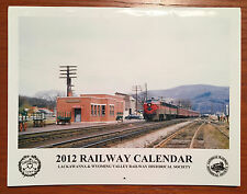 2012 Railway Calendar Lackawanna & Wyoming Valley Railway Historical Society
