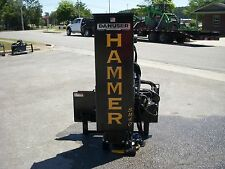 Bobcat Skid Steer Attachment - Danuser SM40 Hammer with Weight Kit - Ship $199