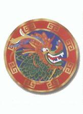 Découpe tête de dragon décoration à suspendre decor decoration fetes nouvel an