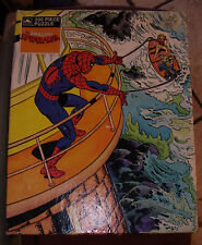 Vintage Marvel Amazing Spider-Man 200pc Puzzle by Golden (complete) 1988