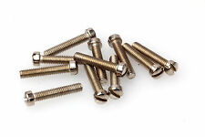 GRETSCH VINTAGE STYLE 6-40 SLOTTED FILTERTRON SCREW Set (12) Nickel