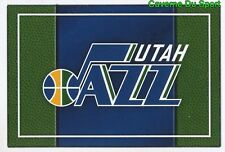 303 TEAM LOGO USA UTAH JAZZ STICKER NBA BASKETBALL 2017 PANINI