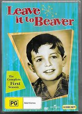 Leave It To Beaver : Season 1 (DVD, 2013, 6-Disc Set)New Region 4 Free Post