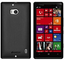 AMZER BLACK PUDDING SOFT GEL TPU SKIN FIT CASE COVER FOR NOKIA LUMIA 929 ICON