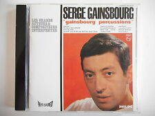 SERGE GAINSBOURG : GAINSBOURG PERCUSSIONS [ CD ALBUM ] --  PORT GRATUIT