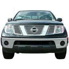 FITS '05-07 Nissan Frontier Pathfinder ABS Chrome Grille Insert CCI # GI/28 NEW