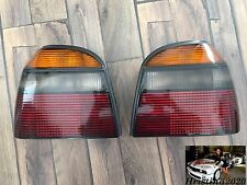 VW Golf MK3 OEM Tail Rear Lights  'HELLA'  Black EURO  Haltestellen