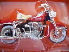 Harley-Davidson Maisto Die-Cast 1962 DUO GLIDE Box Scale1:18 Series 5